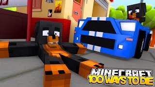 Minecraft 100 WAYS TO DIE DONUT BABY MAX TRY TO KILL THEMSELVES 100 TIMES Donut The Dog