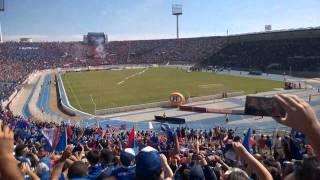 Salida Universidad de Chile vs. Unión La Calera