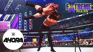 Roman Reigns al borde de la DERROTA en Extreme Rules: WWE Ahora, Sept 26, 2021