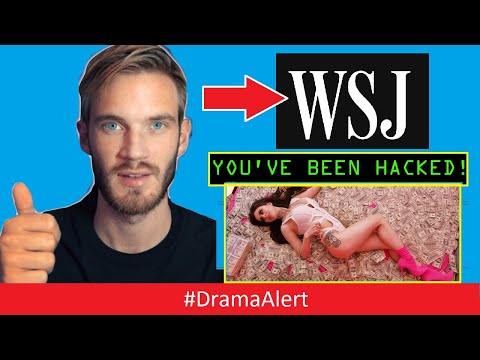 PewDiePie fans HACK the Wall Street Journal! #DramaAlert ( Worst Music Video of all time! ) thumbnail