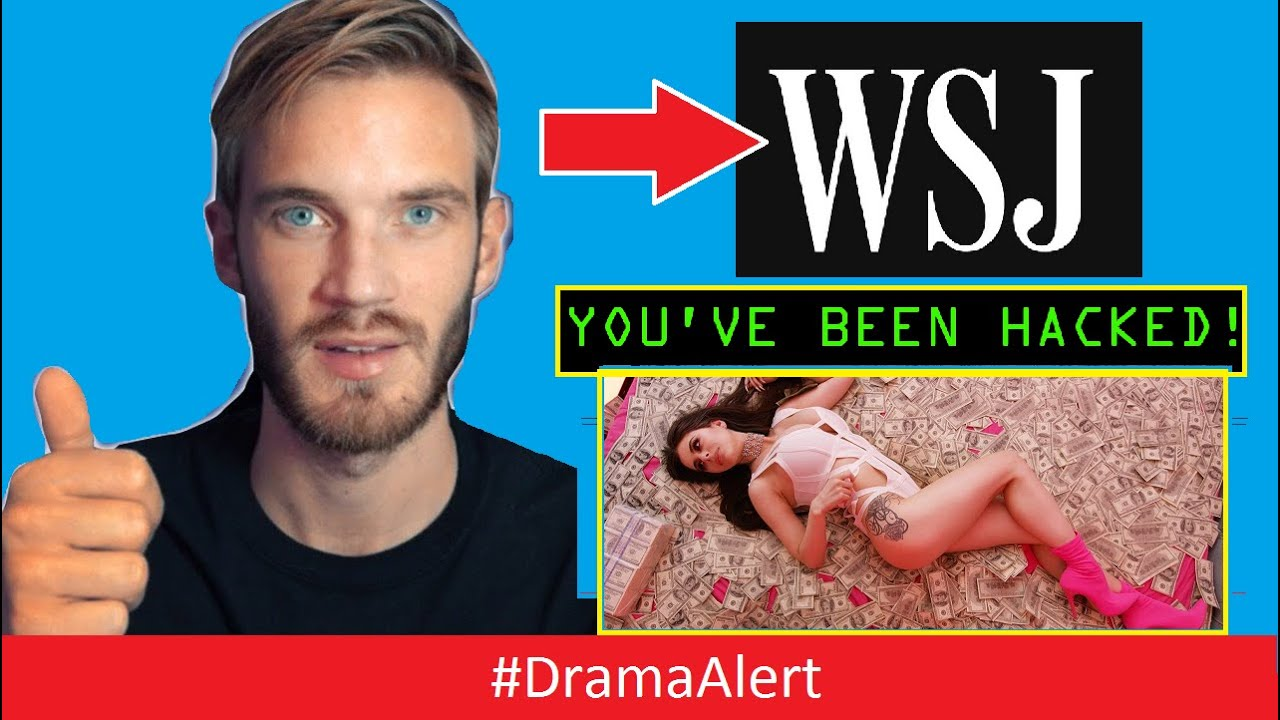 PewDiePie fans HACK the Wall Street Journal!