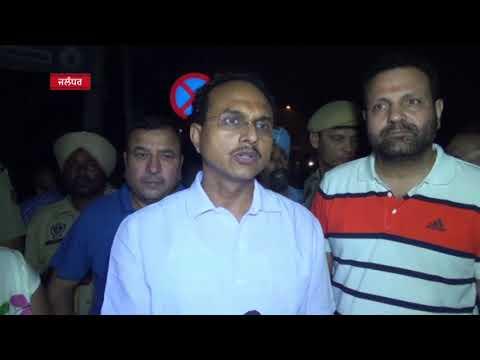 JHANJAR TV NEWS FROM JALANDHAR PUNJAB Nearly 20 Shops of firefighting newr Jyoti Chowk of Jalandhar