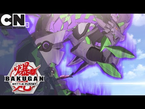 Bakugan: Battle Planet | Magnus Evolves Nillious | Cartoon Network UK