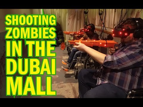 We SHOT ZOMBIES in The Dubai Mall!