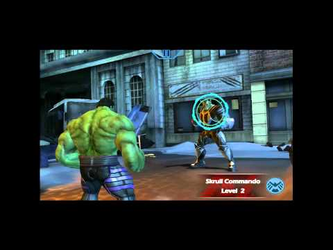 Marvel Avengers Initiative (iOS): Hulk Goes To Battle