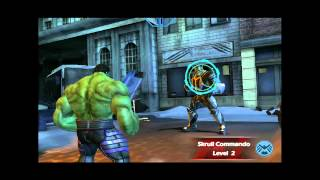 Marvel Avengers Initiative (iOS): Hulk Goes To Battle