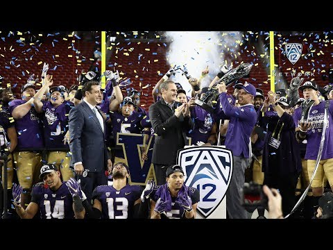 Highlights: Washington football captures Pac-12 title with gritty win over Utah