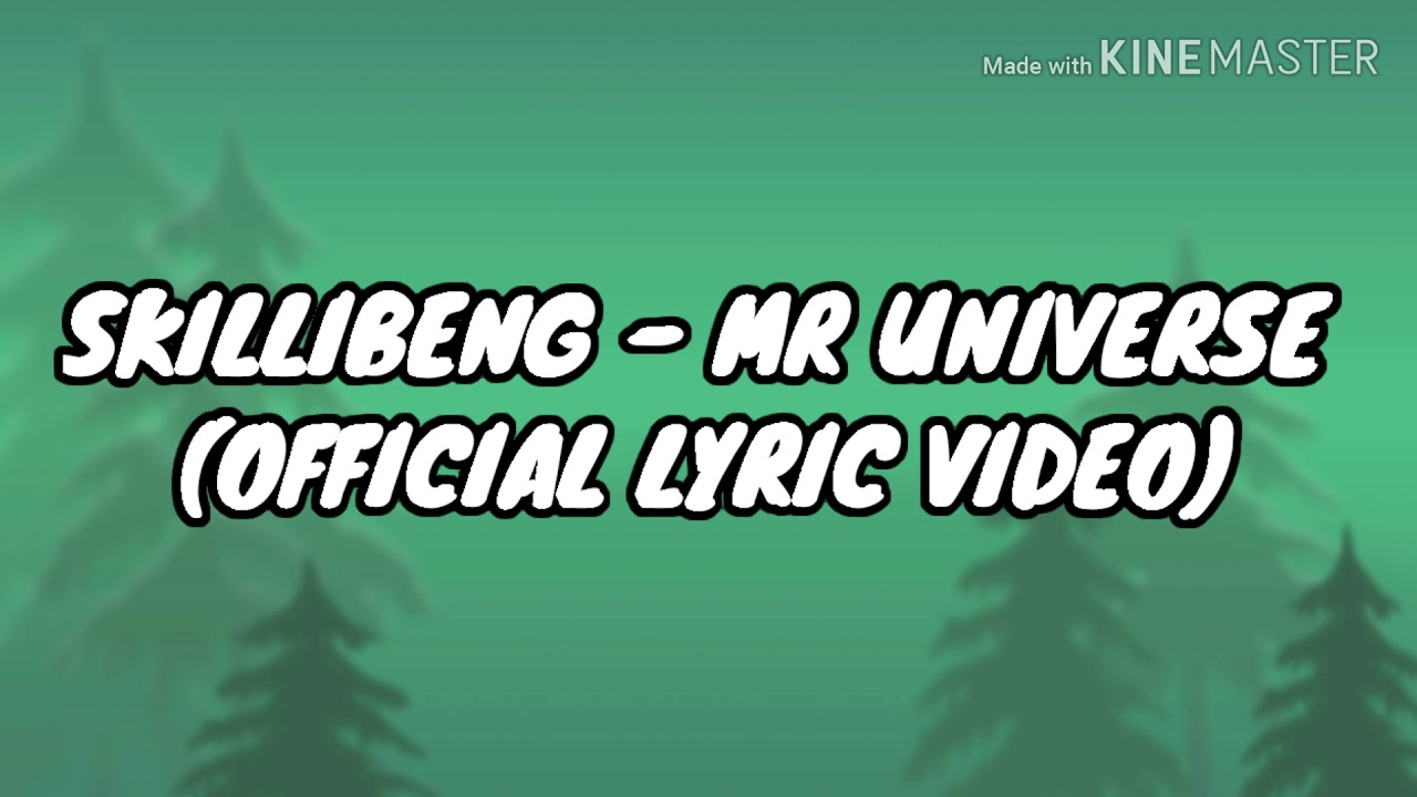 Download Skillibeng - Mr Universe (Official lyric video)