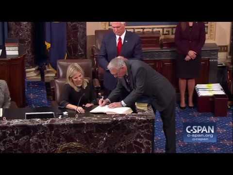 Jon Kyl sworn into U.S. Senate (C-SPAN)