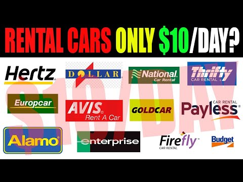 How To Rent A Car For Cheap Anywhere In The World - 2020! $10 Per Day?