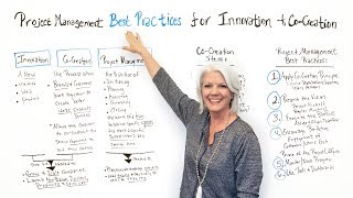 Project Management Best Practices for Innovation and Co-Creation - Project Management Training