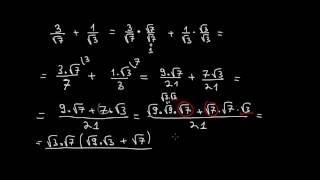 Математика 9 клас. Задачи от преобразуване на изрази съдържащи квадратен корен.
