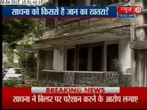 Veteran actor Sadhana seeks police help in property dispute with builder