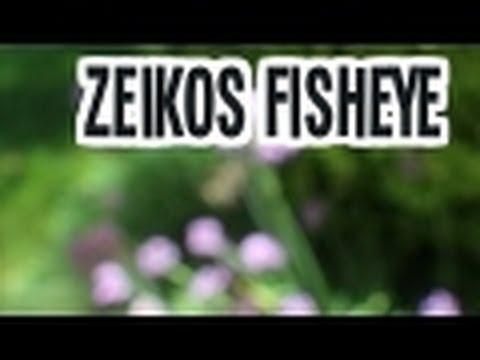 Zeikos Fisheye Lens 0.40X 52/58mm For Canon T4i/T3i