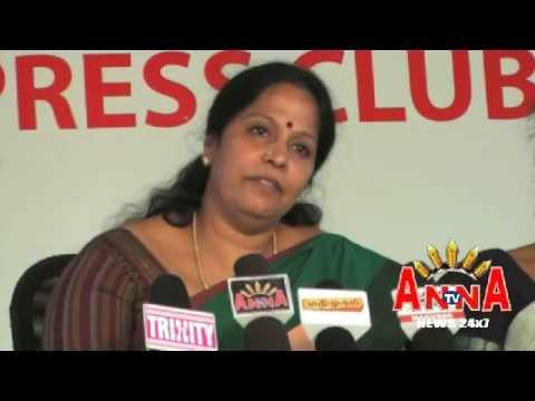 MGR JANAGI WOMEN ARTS COLLEGE WORLD  SITTHAR TRUST  PRESS MEET ANNA TV