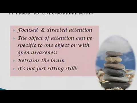 Stress Less Wellness Talk/Webinar Series - Mindful Meditation