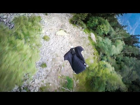 GoPro: Graham Dickinson's Insane Wingsuit Flight - Follow Cam 1 of 3