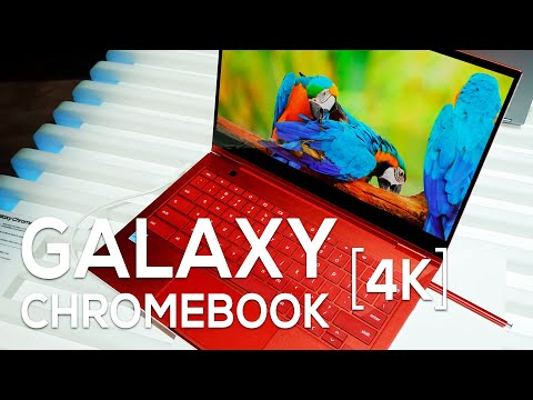 Samsung Galaxy Chromebook hands-on: 4K never looked so good