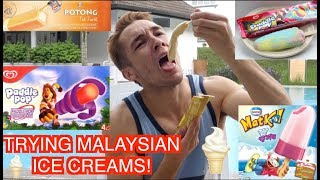 TRYING MALAYSIAN ICE CREAMS!