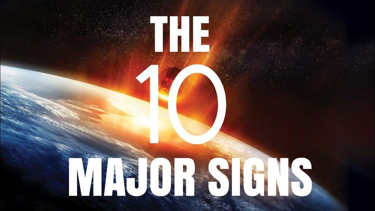 THE 10 MAJOR SIGNS - SHAYKH ASRAR RASHID