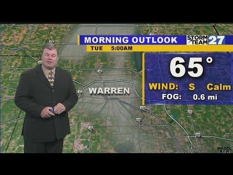 WKBN weather warren test