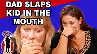 Parent Smacks Kid in the Mouth | Supernanny
