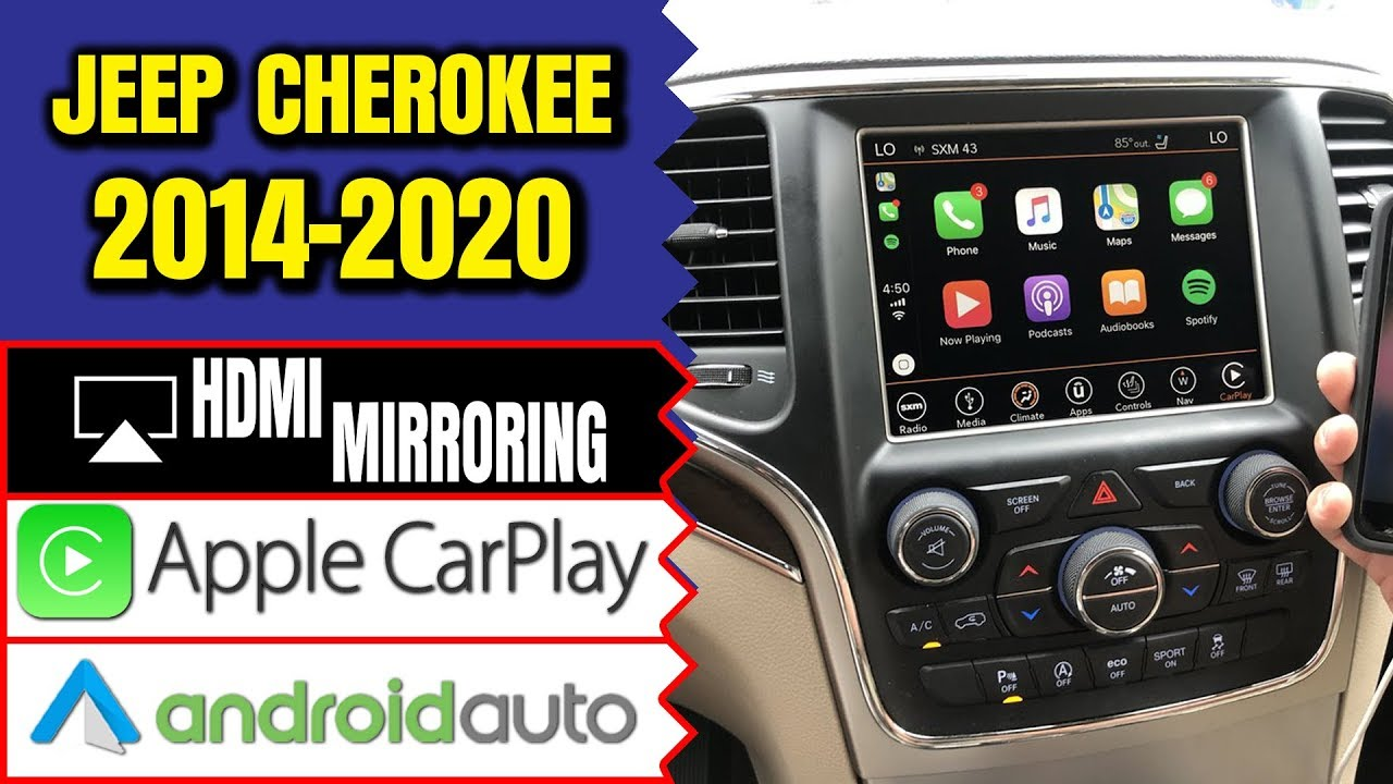 Jeep Cherokee 2014 2019 Navtool Navigation Video Interface Add