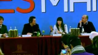 YES MAN - Jim Carrey Zooey Deschanel Peyton Reed PRESS CONFERENCE Conferenza Stampa 3 (audio Eng)