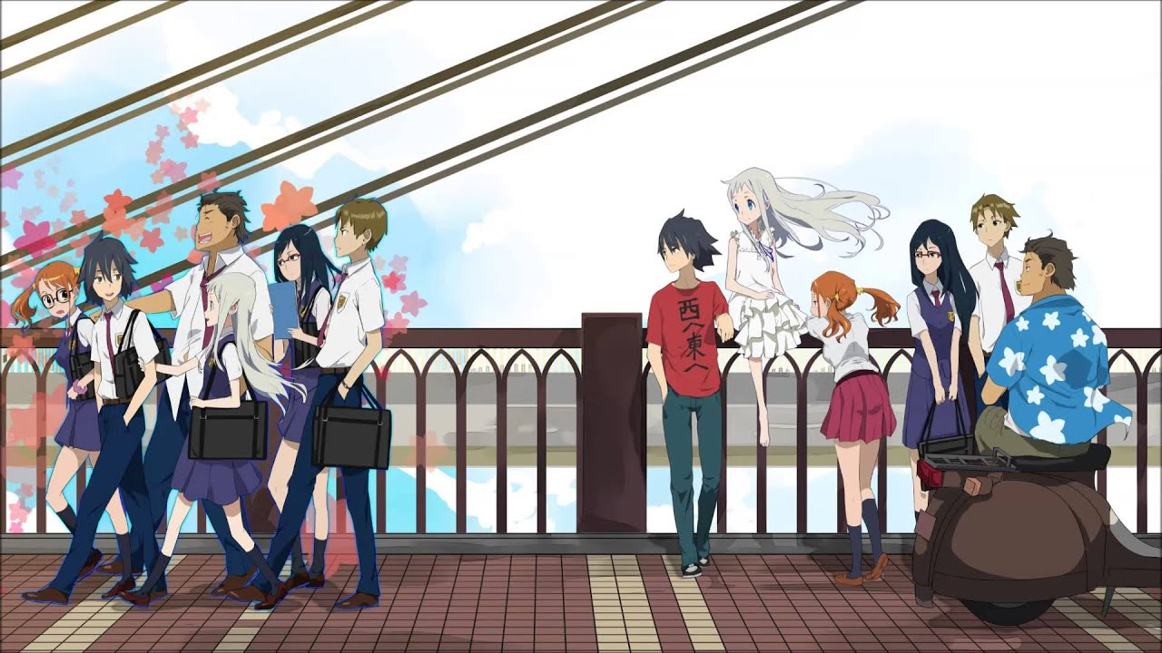 Resultado de imagen de Ano Hi Mita Hana no Namae