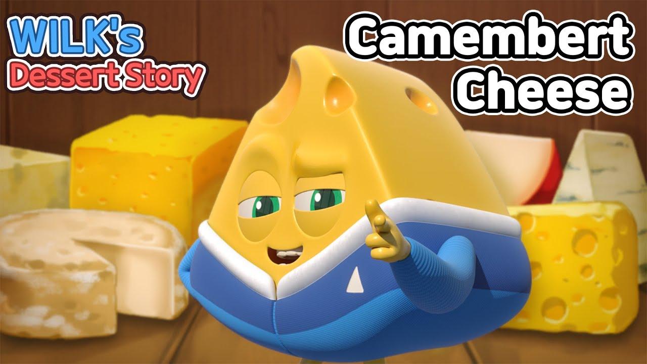 Wilk's Dessert Story | ep21 | Camembert Cheese | animation/dessert/cartoon