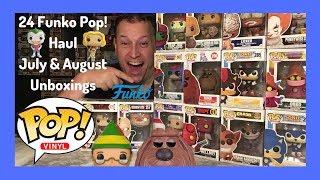 Funko Pop! Forbidden Planet & EMP July + August 24 Pop! Haul Unboxing - Amazon Pop In A Box PIAB