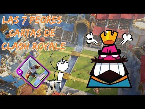 ¡Las Peores Cartas De Clash Royale!