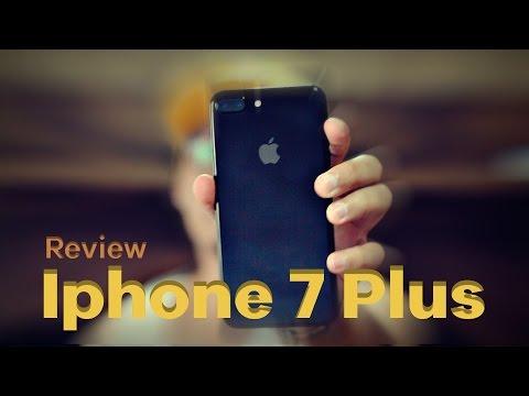 Review do iphone 7 PLUS, Modelo Jet Black.