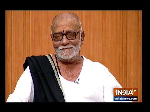 Morari Bapu in Aap Ki Adalat: Spiritual leader responds to questions on Ram Mandir, Hanuman's caste