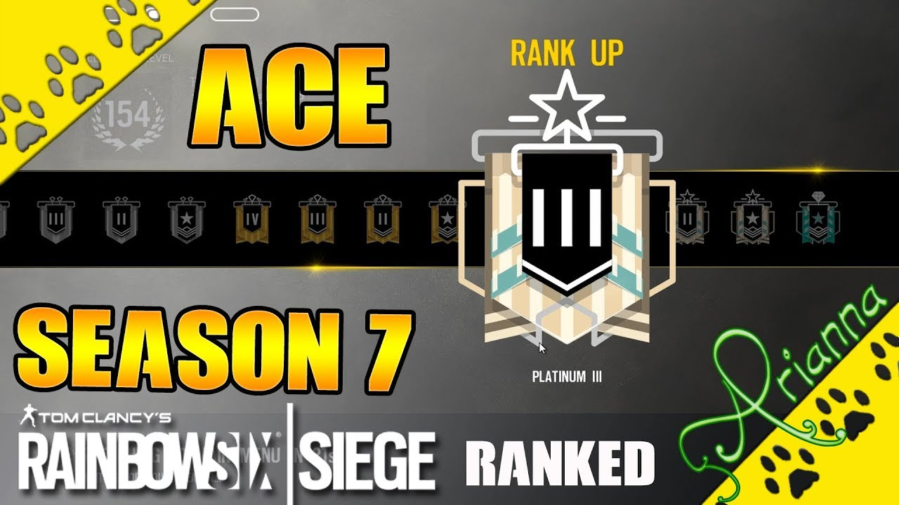 R6 Rainbow Six Siege | Year 2 - Season 3 Ranked | 03 - Blood Orchid |  Platin und Ace - Lets go!