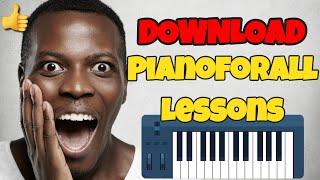 Pianoforall Download - Seven Lessons