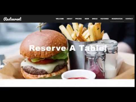 Responsive Restaurant Cafe Coffee Shop HTML5 Bootstrap Template
