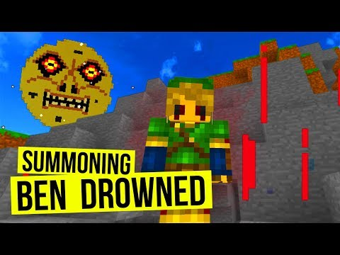 Summoning BEN DROWNED in Minecraft! (THIS IS BAD)