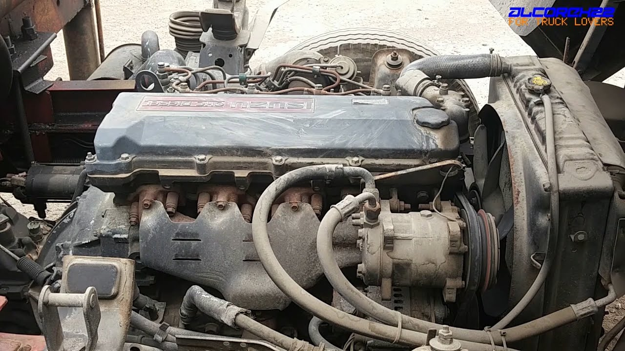 hight resolution of isuzu 4hf1 engine view