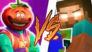 FORTNITE BATTLE ROYALE vs MINECRAFT