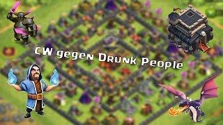 Clan War gegen Drunk People #14 // Let´s Play Clash of Clans (German/HD)