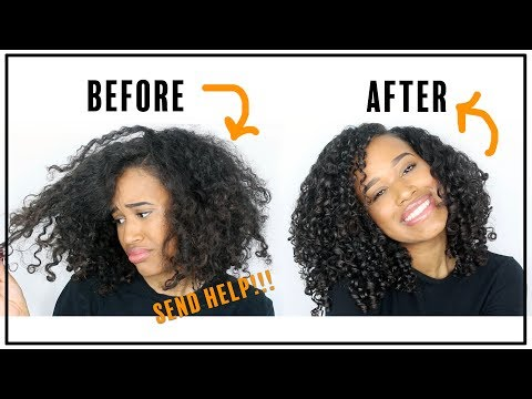 Curly Hair REHAB   How I Fixed my DRY & FRIZZY Curls!