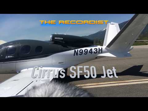 Cirrus Vision SF50 Jet