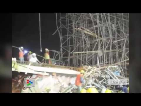 Malaysia Second Penang bridge collapses on vehicles: at least one dead