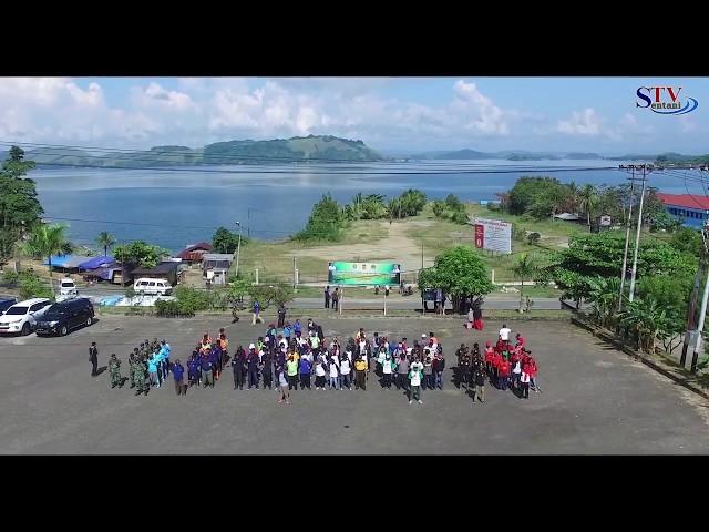 Bupati Jayapura Launching Penanaman TURUS Ruas Jalan Protokol | Sentani TV