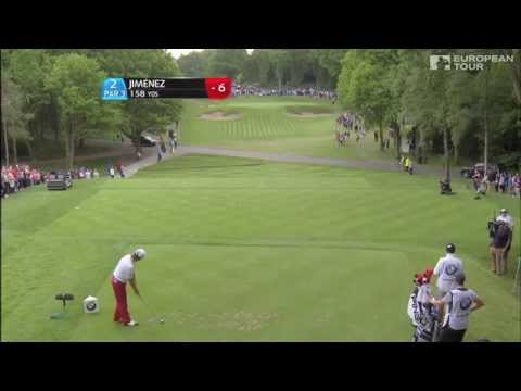 Miguel Ángel Jiménez Hole In One At Wentworth