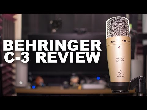 Behringer C-3 Mic Review / Test