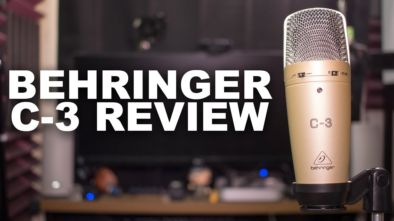 Behringer C-3 Mic Review / Test