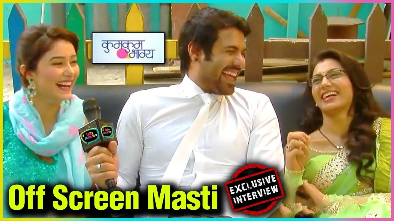 Download Abhi, Pragya, Tanu Crazy Fun Interview | On Set | Kumkum Bhagya EXCLUSIVE | Throwback