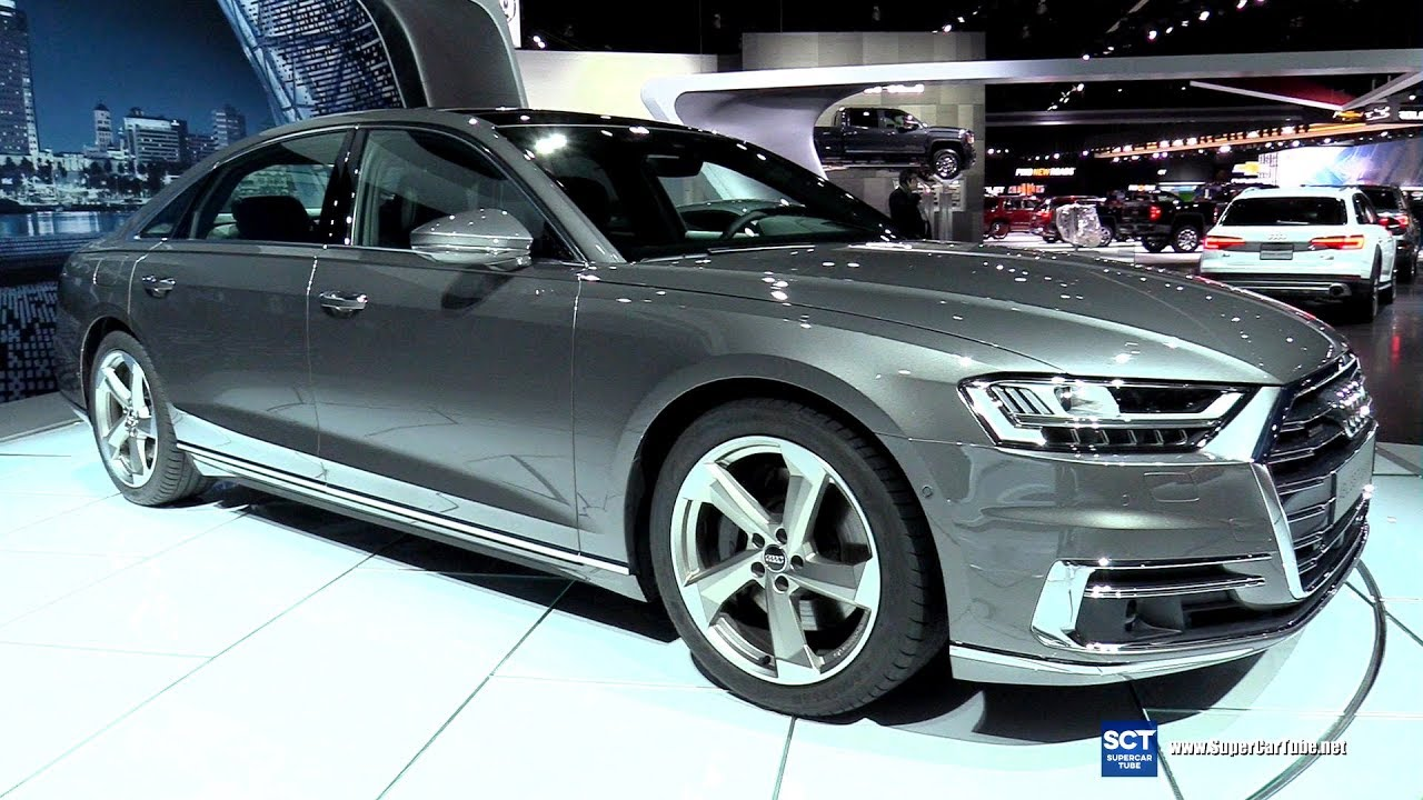 2019 Audi A8 L Exterior And Interior Walkaround Debut At 2017 La Auto Show